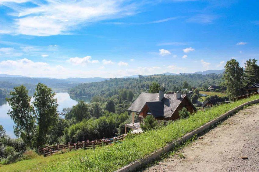 Zielone Wzgórza nad Soliną - Bieszczady