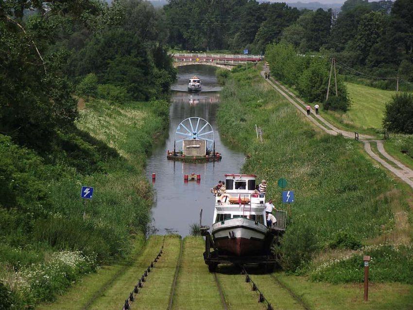 Pochylnia Buczyniec na Kanale Elbląskim