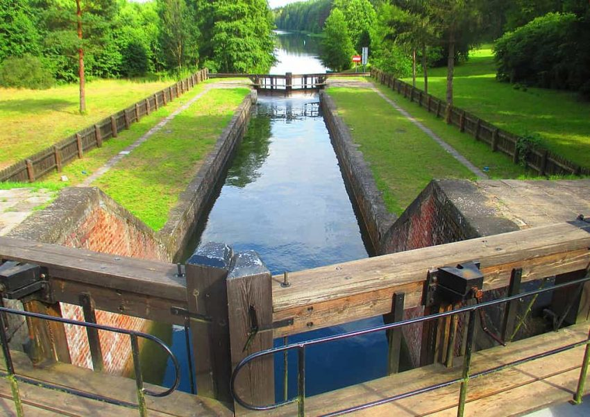Śluza na Kanale Augustowskim